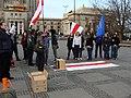 Dzień Solidarności z Białorusią - marzec 2011 21.JPG