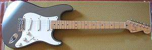 Eric Clapton Stratocaster - Image: EC Strat 1996