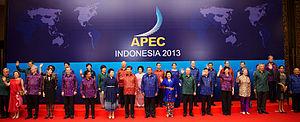Nusa Dua - APEC Indonesia 2013 held in Bali Nusa Dua Convention Center