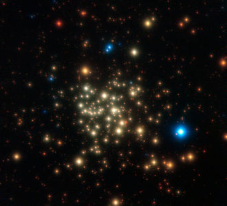 Arches Cluster - Image: ESO Arches Cluster