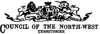 Temporary North-West Council - Image: Early NW Tcouncillogo