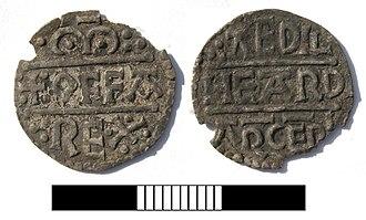 Æthelhard - A silver penny of Æthelhard