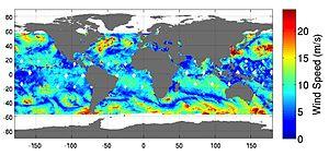 ISS-RapidScat - ISS-RapidScat data from October 2014