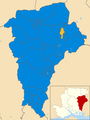 East Hampshire UK local election 2015 map.png