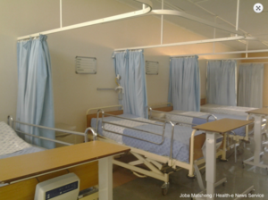Human rights in South Africa - East Rand Hospital. There are not enough beds for the patients.