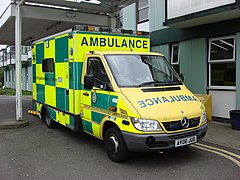 english ambulance which meets the colour and livery standards - Ambulance Pictures To Colour