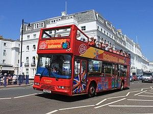 East Lancs Lolyne - Image: Eastbourne Grand Parade BBC 391 (V901FEC)
