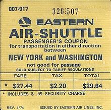 Service Edit Eastern Air