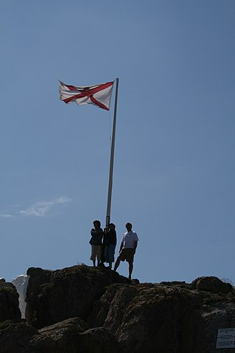 Écréhous - Image: Ecrehous+flag