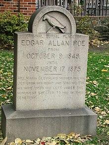 Death Of Edgar Allan Poe Wikipedia