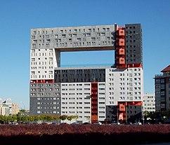 Edificio Mirador, Madrid (2001-2005), junto con MVRDV