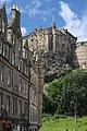 Edinburgh Castle from the Grassmarket - geograph.org.uk - 896483.jpg