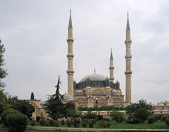 Edirne - Image: Edirne mosque outside