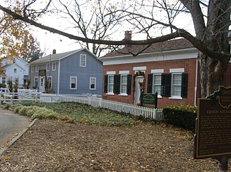 Thomas Alva Edison Birthplace - Fall of 2008