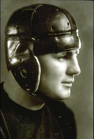 Edward Slaughter - Slaughter as shown in the 1925 Michiganensian (Bentley Image Bank)