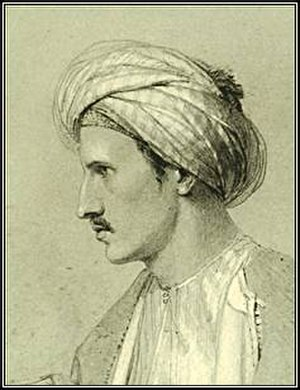 Edward William Lane - Lane, in Turkish costume
