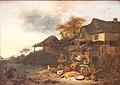 Egbert van der Poel-Devant la ferme.jpg