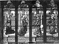 Eglise Saint-Martin - Vitrail, baie 2 (partie centrale), Saint Jean, sainte Marie-Madeleine, sainte Marie-Cleophe et sainte Marthe - Montmorency - Médiathèque de l'architecture et du patrimoine - APMH00015447.jpg