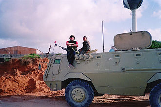 United Nations Operation in Somalia I - UNOSOM Egyptian Fahd 240 APC