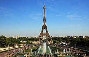 20 Kilomètres de Paris - The start point is near the Eiffel Tower