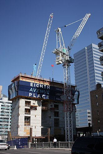 Eighth Avenue Place - Image: Eighth Ave Place June 09