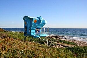 El Capitán State Beach - Image: El capitán lifeguard