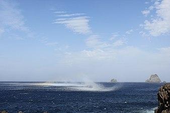 El mar danza frente a Salmor.JPG