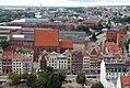 Elbląg - Widok z wieży katedralnej na nowe-stare miasto - foto Łukasz Kotyński.jpg
