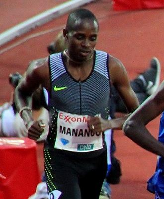 Elijah Manangoi - Manangoi in 2016