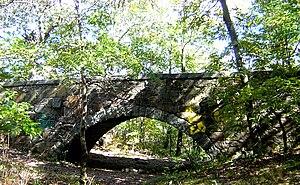 Eliot Memorial Bridge - Image: Eliot Bridge Milton MA 04