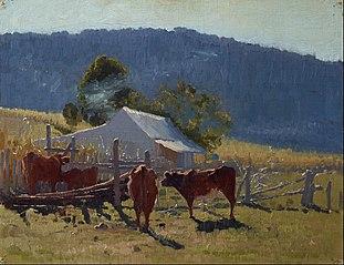 Milking time (Araluen Valley)