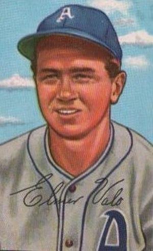Elmer Valo - Image: Elmer Valo 52Bowman Card