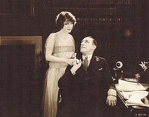 Lumsden Hare - Lumsden Hare with Elsie Ferguson in The Avalanche (1919)
