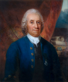 Portrait of Swedenborg by Carl Frederik von Breda.