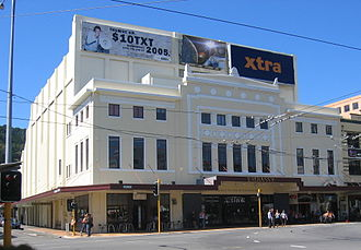 Embassy Theatre, Wellington - The Embassy in 2005