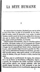 Émile Zola: La Bête humaine