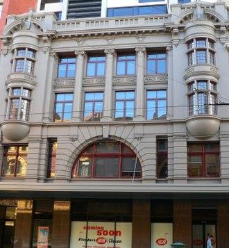 Nahum Barnet - Image: Empire building flinders street melbourne