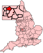 Walsall MB within England