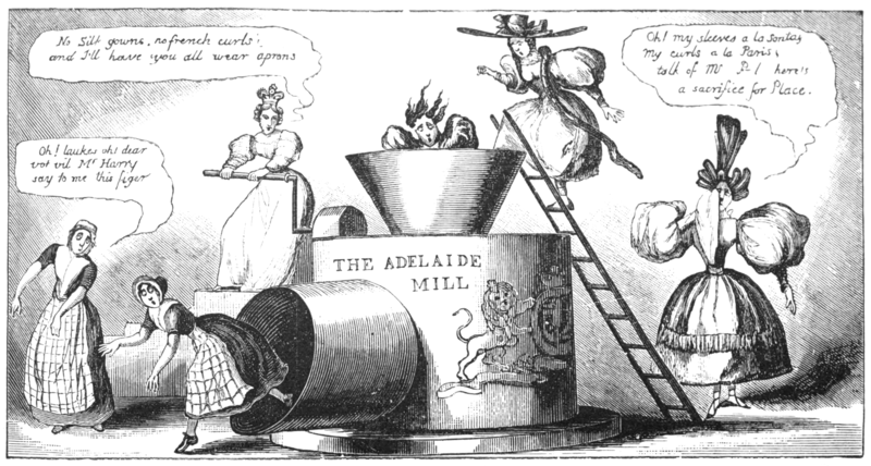 English Caricaturists, 1893 - The Adelaide Mill.png