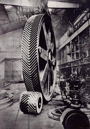 Herringbone gear - Image: Engrenages 85.488