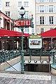 Entrée Métro St Michel Paris 5.jpg