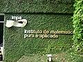 Entrada, Instituto Nacional de Matemática Pura e Aplicada (Rio de Janeiro).jpg