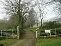 Entrance and drive to Trewardale - geograph.org.uk - 748819.jpg