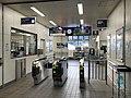 Entrance of Kanda Station (Nippo Main Line).jpg
