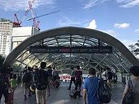 Entrance of Shenzhen North Station (Shenzhen Metro) 3.jpg