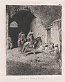 Entrance to the Kasbah in Tetuan, figures sitting on the ground, others on horseback MET DP876118.jpg