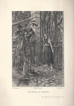 Éponine intervenas por malhelpi Patron-Minette prirabi la hejmon de Valjean.