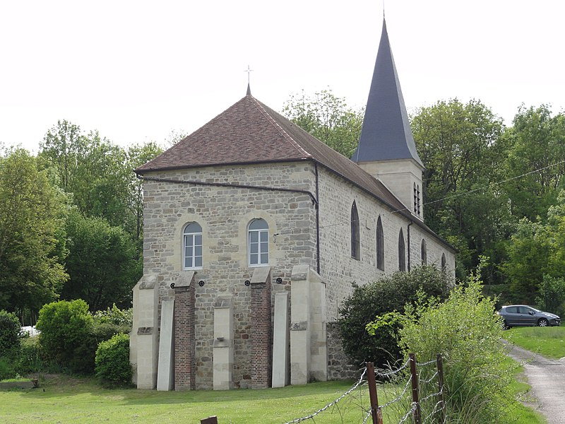 Eppes (Aisne)Église Notre Dame et Saint Nicolas