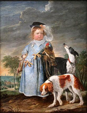 Erasmus Quellinus II - Portrait of a young boy