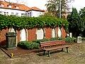 Erbbegräbnis Heinrich Wilhelm Hahn der Jüngere 1795-1873 der Ältere 1760-1831 Neuer St. Nikolai Friedhof Hannover Nordstadt.jpg